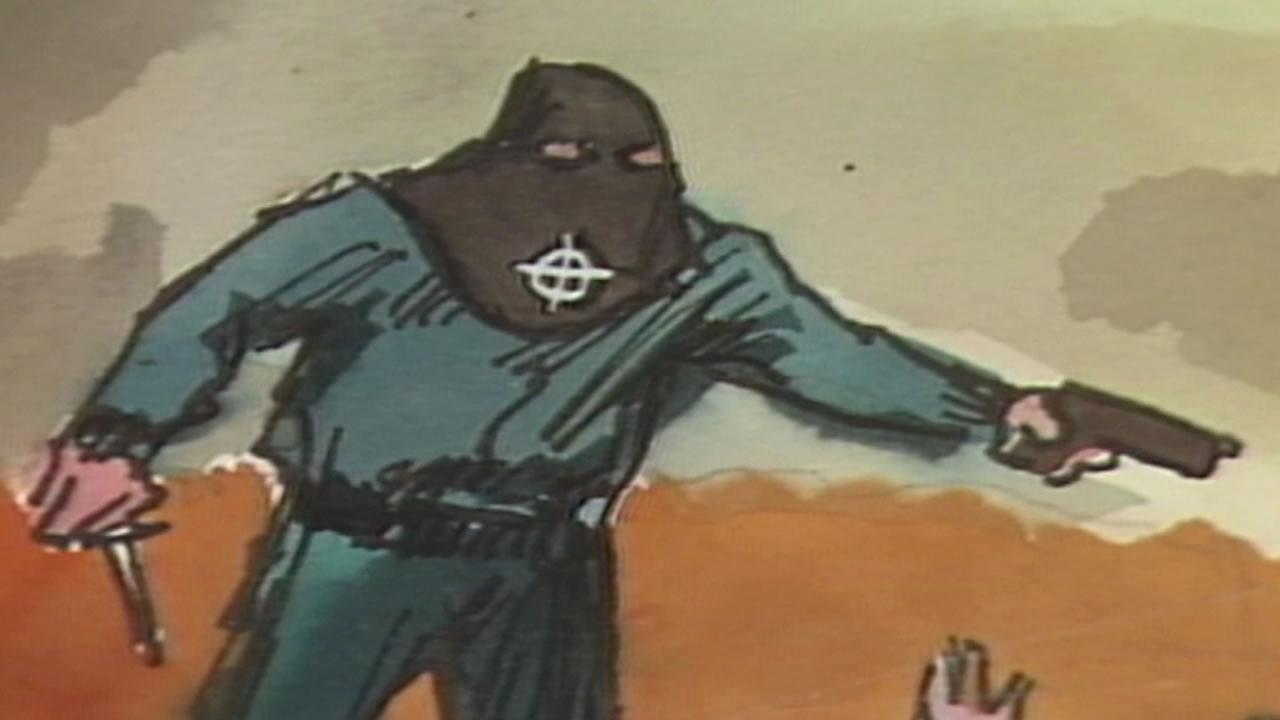 Drawing of the Zodiac killer