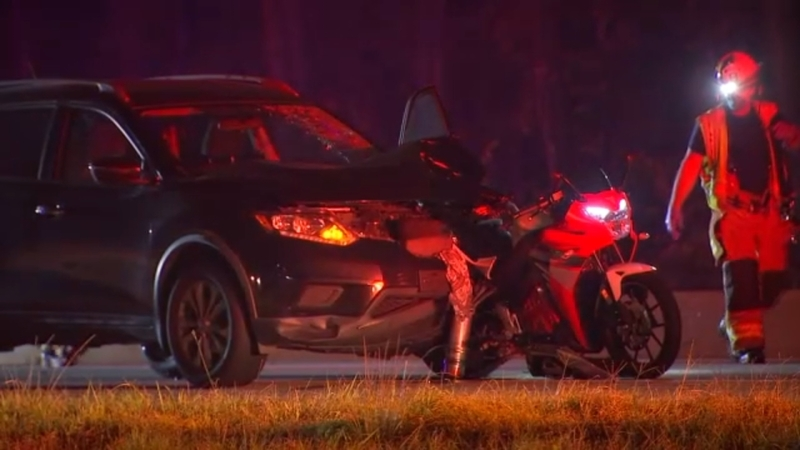 1 Killed When Motorcycle Collides With Suv On I 440 In Raleigh Near Lake Boone Trail Abc11 Raleigh Durham