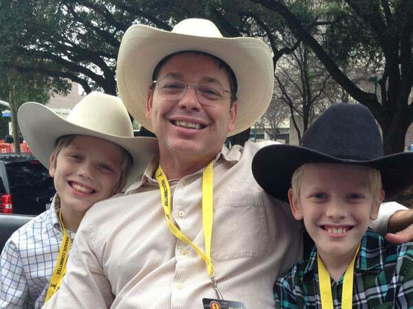"<div class=""meta image-caption""><div class=""origin-logo origin-image none""><span>none</span></div><span class=""caption-text"">Jeff Ehling and his sons riding on the ABC-13 float in a parade (KTRK Photo)</span></div>"