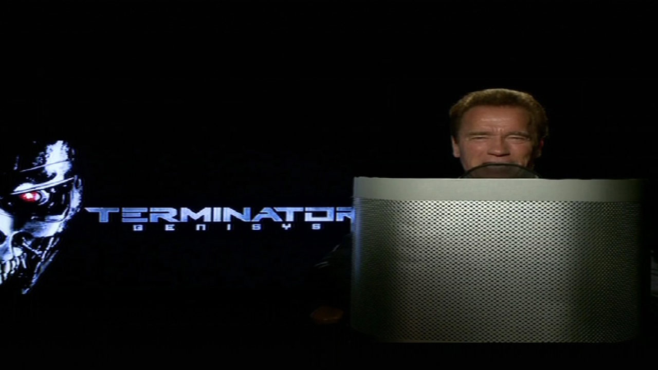 Arnold Schwarzenegger 'Terminator' voice used on Waze traffic app.
