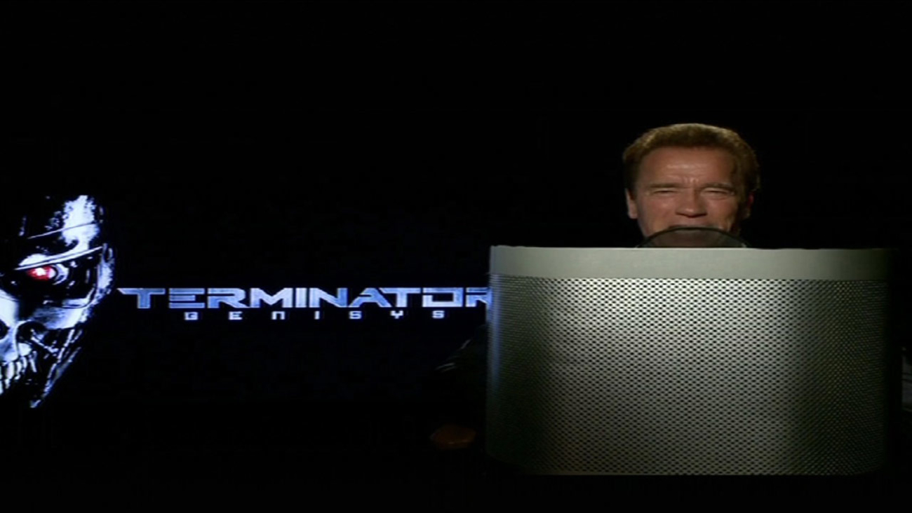Arnold Schwarzenegger 'Terminator' voice used on Waze traffic app.