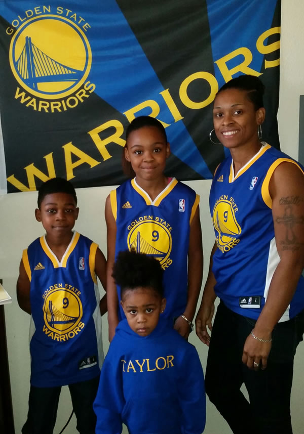 <div class='meta'><div class='origin-logo' data-origin='none'></div><span class='caption-text' data-credit='Photo submitted to KGO-TV by Faith/uReport'>The Ware family is repping their Warriors Iguodala jerseys! Tag photos on Twitter, Instagram, Facebook or Google Plus using #DubsOn7.</span></div>
