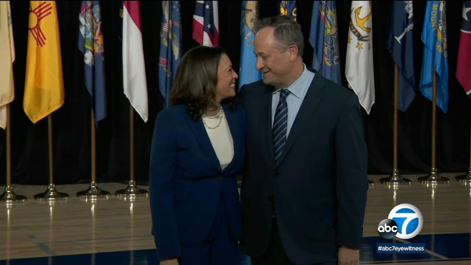 An Angeleno In The White House Kamala Harris Husband Doug Emhoff And Their Strong Ties To Los Angeles Abc7 Los Angeles
