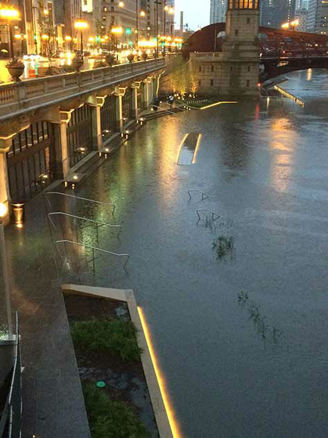 Chicago Weather Severe Weather Hits Chicago Area