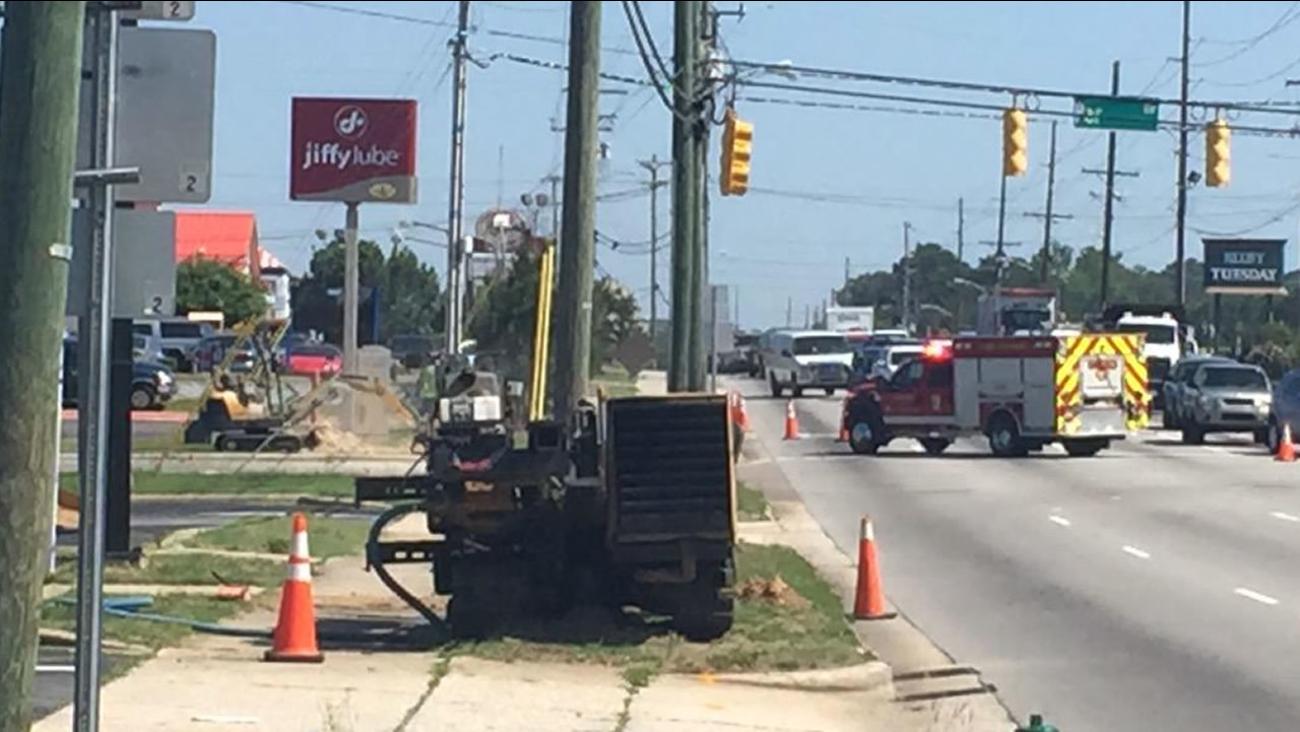 Fayetteville gas leak
