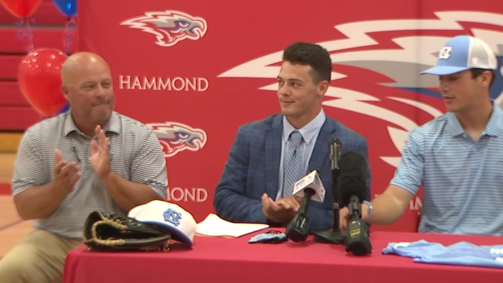 Reece Holbrook, son of College of Charleston head coach, signs with UNC baseball