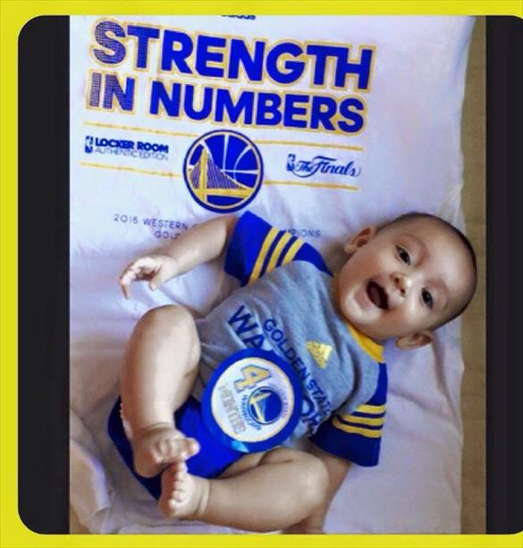 "<div class=""meta image-caption""><div class=""origin-logo origin-image none""><span>none</span></div><span class=""caption-text"">This little guy is hoping for a Game 6 win on his 4 month birthday! Tag photos on Twitter, Instagram, Facebook or Google Plus using #DubsOn7. (Photo submitted to KGO-TV via uReport)</span></div>"