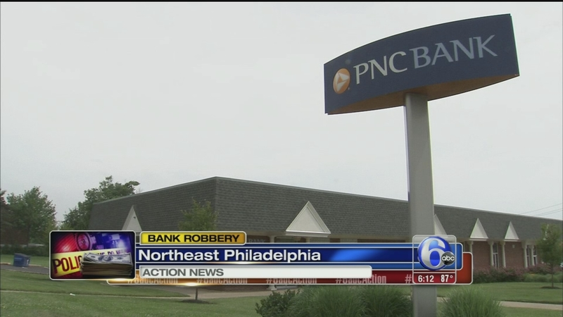 VIDEO: Bank robbery in Northeast Philadelphia