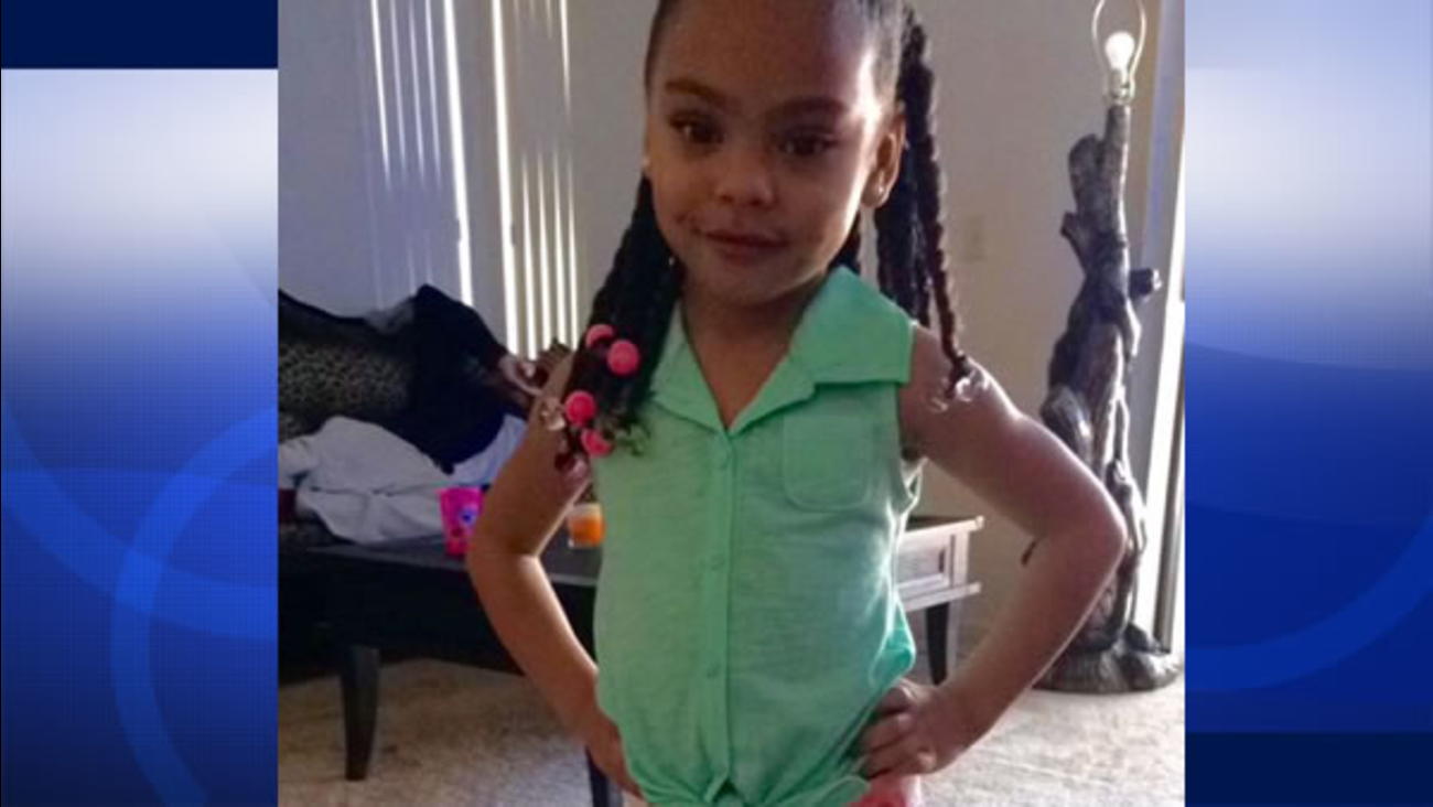 Tyanni Miller, 4, was hit by a bullet during a shooting in East Oakland, Calif. on Tuesday, June 16, 2015.