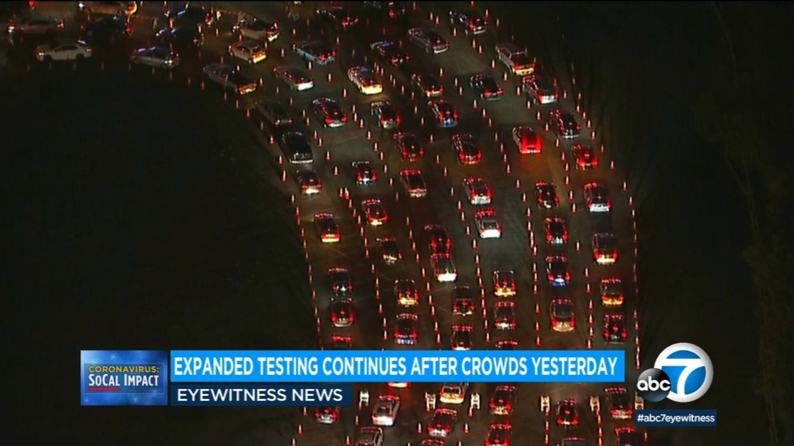 Covid 19 Surge Long Lines Possible At Dodger Stadium Coronavirus Testing Other Locations As La Expands Testing Availability Abc7 Los Angeles