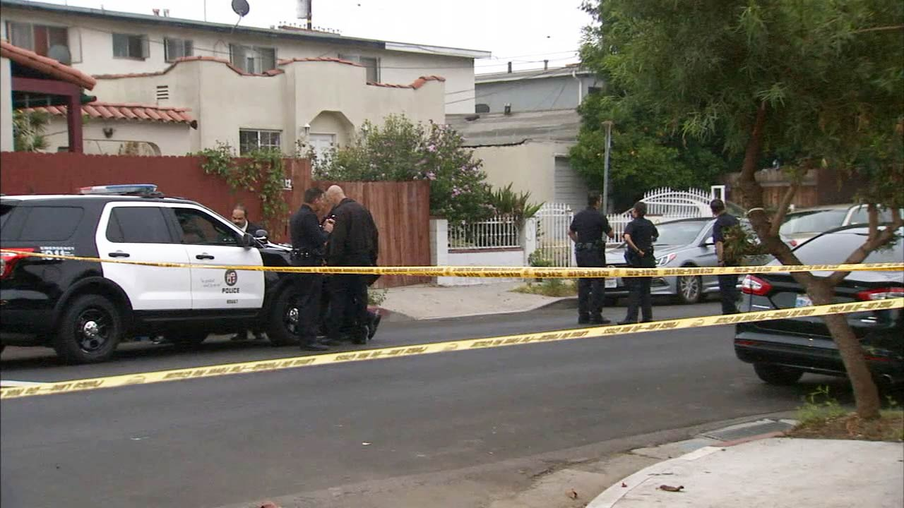 Crime scene tape ropes off the scene of a fatal shooting in Mid-City on Wednesday, June 17, 2015.