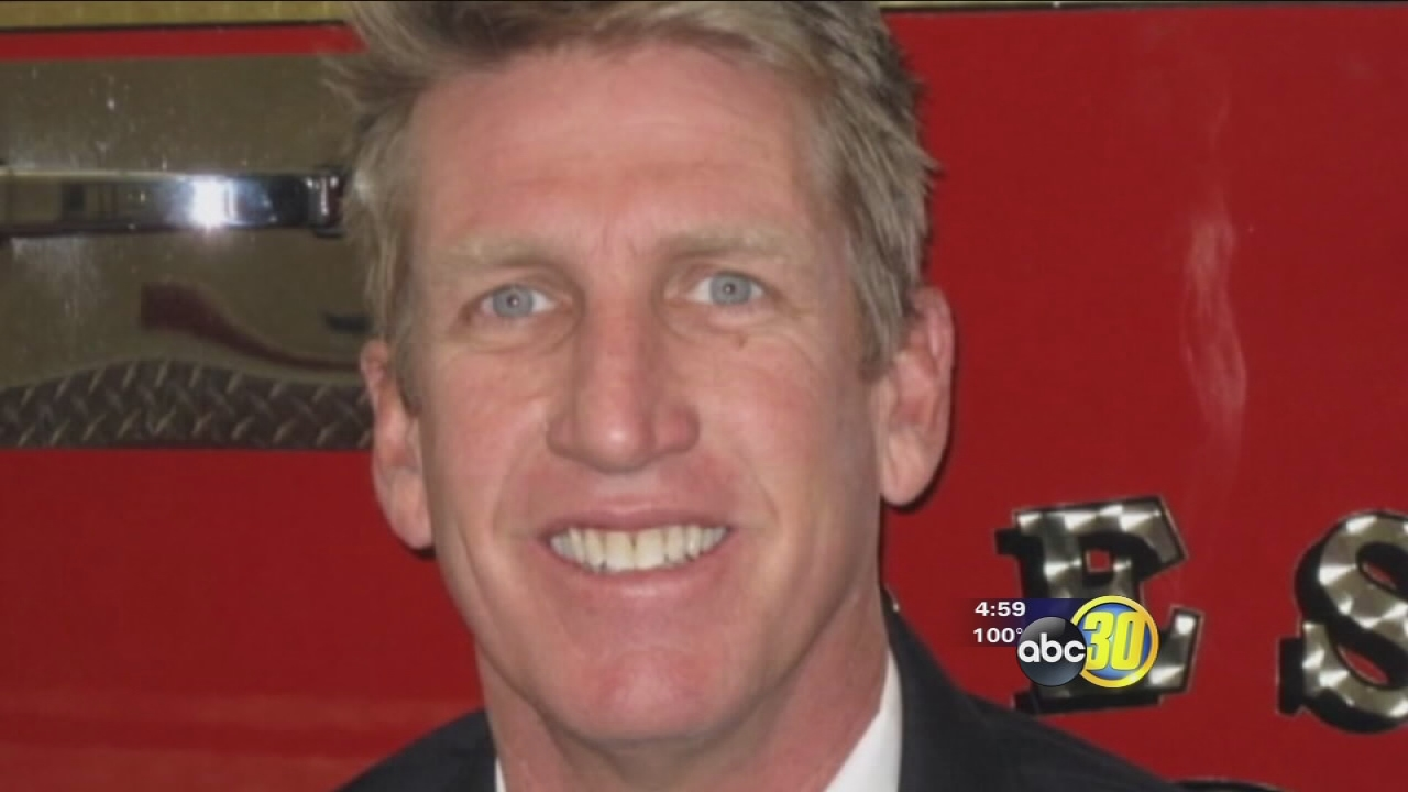 Injured Fresno fire captain's family talks about his progress