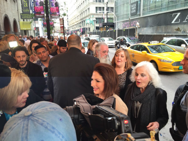 "<div class=""meta image-caption""><div class=""origin-logo origin-image none""><span>none</span></div><span class=""caption-text"">Gloria Estefan arrives at the Oriental Theater in Chicago for the premiere of ""On Your Feet"" on June 17, 2015. (WLS Photo)</span></div>"