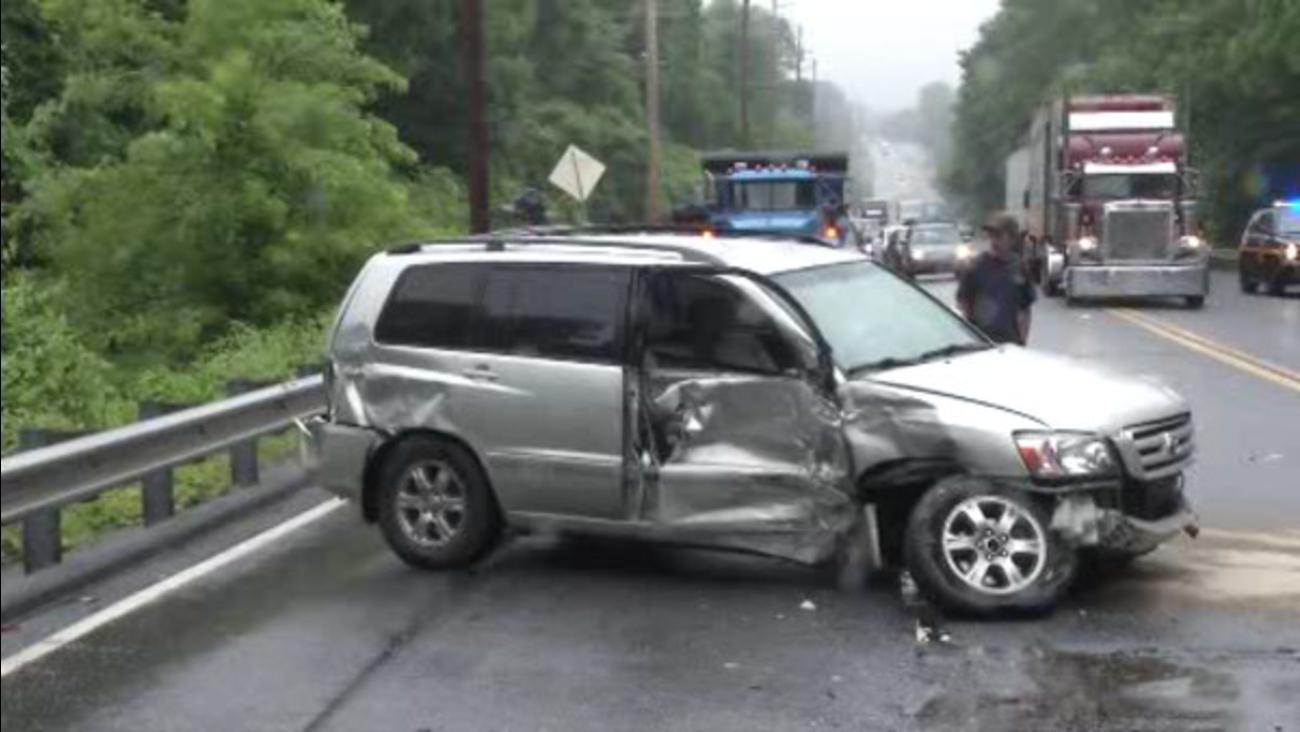 Crash in Hockessin, Delaware