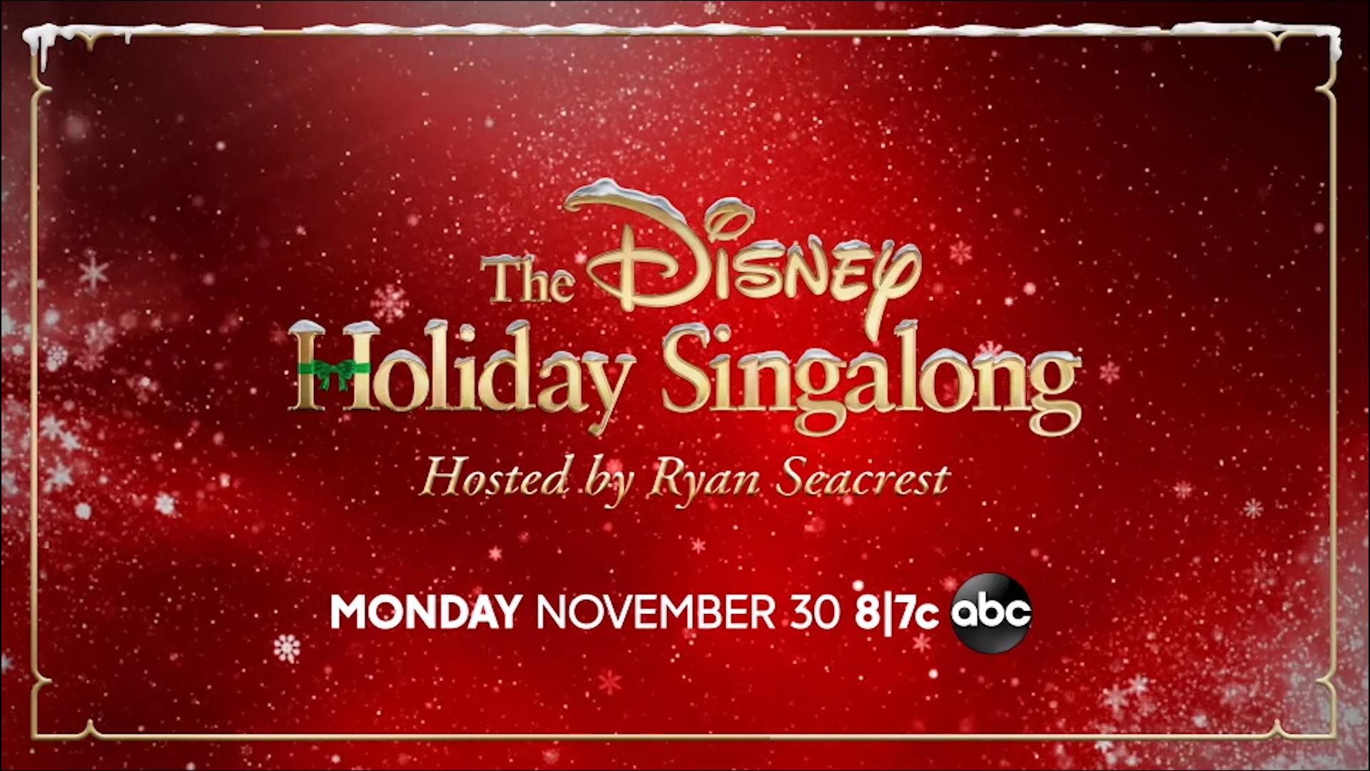 Disney Holiday Singalong on ABC: Lineup includes BTS, Michael Buble, Ciara,  more - 6abc Philadelphia
