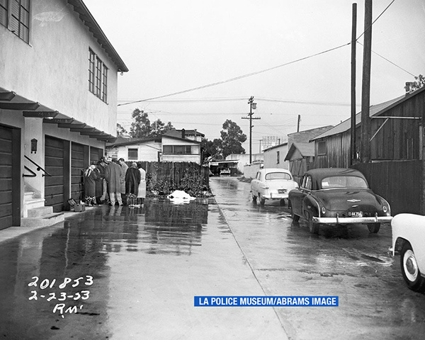 """<div class=""""meta image-caption""""><div class=""""origin-logo origin-image none""""><span>none</span></div><span class=""""caption-text"""">This photo is featured in the book """"LAPD 53."""" (LA Police Museum/Abrams Image)</span></div>"""