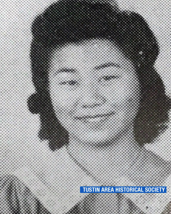 """<div class=""""meta image-caption""""><div class=""""origin-logo origin-image none""""><span>none</span></div><span class=""""caption-text"""">Miko Kaihara is shown in an old high school photo. (Tustin Area Historical Society)</span></div>"""