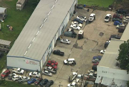 PHOTOS: Standoff at NE Harris County warehouse | abc13 com