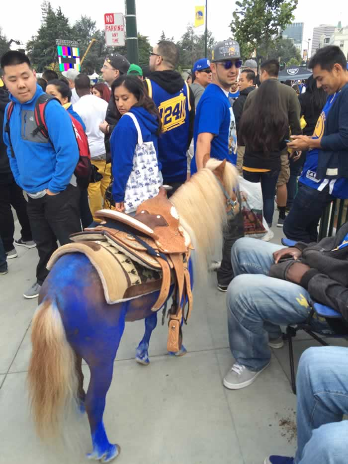"<div class=""meta image-caption""><div class=""origin-logo origin-image none""><span>none</span></div><span class=""caption-text"">Dub Nation gathers for the Golden State Warriors parade in Oakland, Calif. on Friday, June 19, 2015. (KGO-TV)</span></div>"