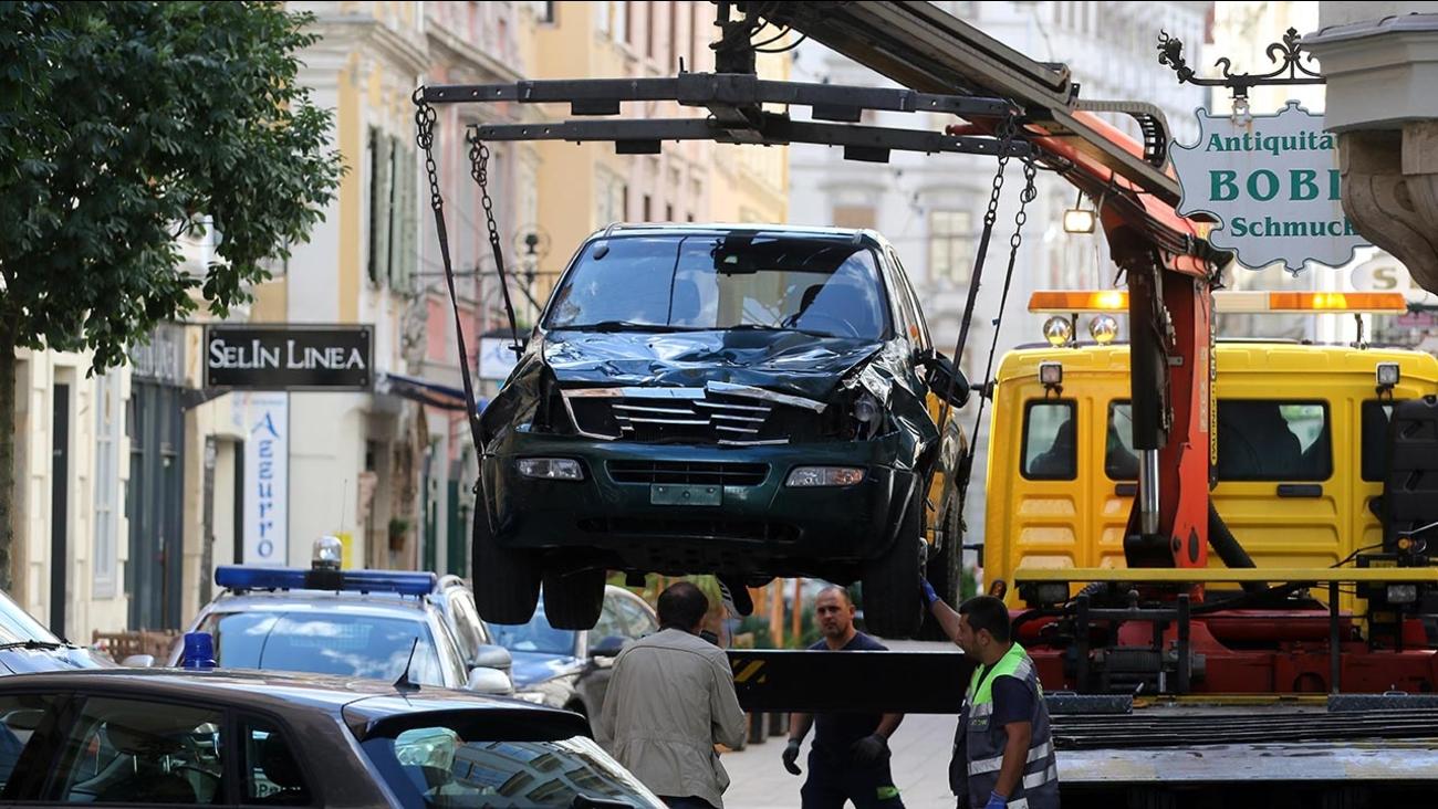 Austria car rampage