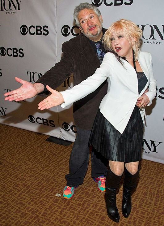 """<div class=""""meta image-caption""""><div class=""""origin-logo origin-image none""""><span>none</span></div><span class=""""caption-text"""">Harvey Fierstein - in the category of live theater/live performance - and Cyndi Lauper - in the category of recording (Charles Sykes/Invision/AP)</span></div>"""