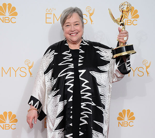 """<div class=""""meta image-caption""""><div class=""""origin-logo origin-image none""""><span>none</span></div><span class=""""caption-text"""">Actress Kathy Bates - in the category of television (Jordan Strauss/Invision/AP)</span></div>"""