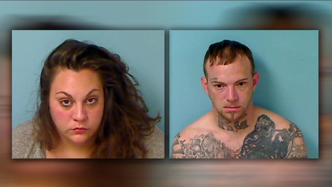 Alexandria Mauer, 24, and Kenneth Gillespie, 33