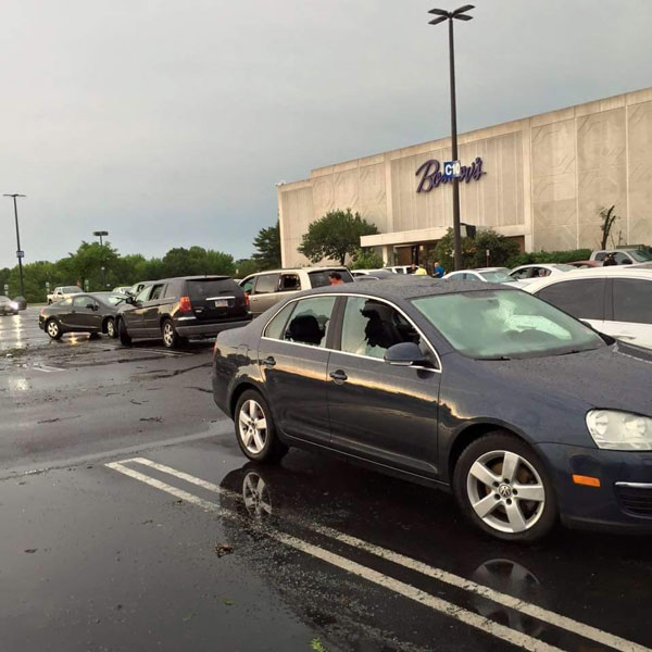 "<div class=""meta image-caption""><div class=""origin-logo origin-image none""><span>none</span></div><span class=""caption-text"">Chris Sowers: Along with the flipped over cars at the Deptford Mall there were also cars with the windows busted out</span></div>"