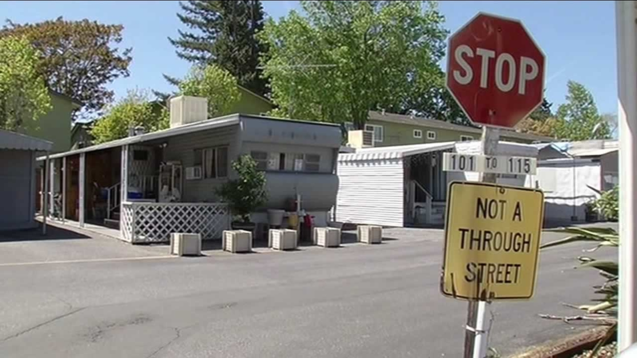 Santa Clara County supervisors voted unanimously to up the ante in a bid to save Palo Alto's Buena Vista Mobile Home Park on Tuesday, June 23, 2015.
