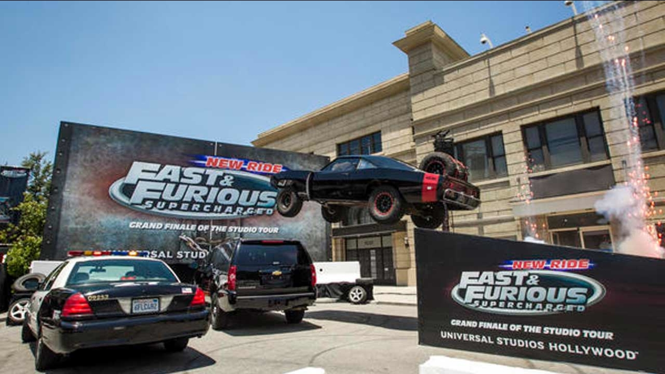 'Fast & Furious - Supercharged' debuted at Universal Studios Hollywood on Wednesday, June 24, 2015.