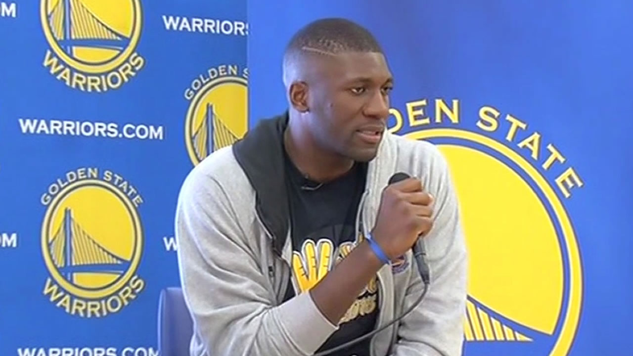 Warriors player Festus Ezeli