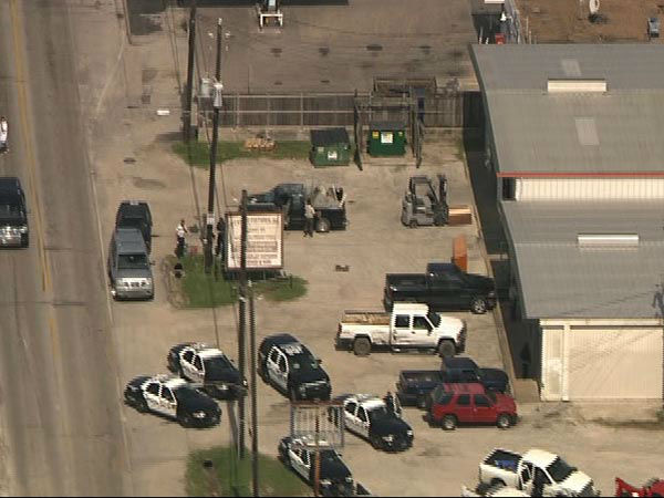 """<div class=""""meta image-caption""""><div class=""""origin-logo origin-image none""""><span>none</span></div><span class=""""caption-text"""">A police chase ends in a crash in north Houston and at least two people were taken into custody. (KTRK/Photo)</span></div>"""