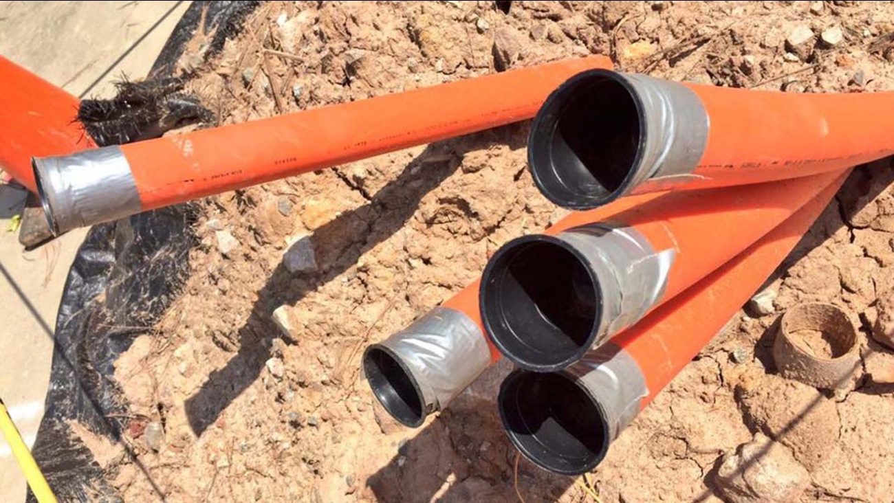Google is installing thousands of miles worth of fiber-optic cable in the Triangle