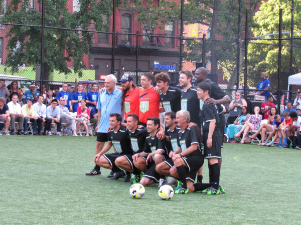 """<div class=""""meta image-caption""""><div class=""""origin-logo origin-image none""""><span>none</span></div><span class=""""caption-text"""">Several professional soccer players and NBA stars participated in a soccer friendly exhibition to benefit the Steve Nash Foundation on Wednesday. (Photo/Steven Rodas)</span></div>"""