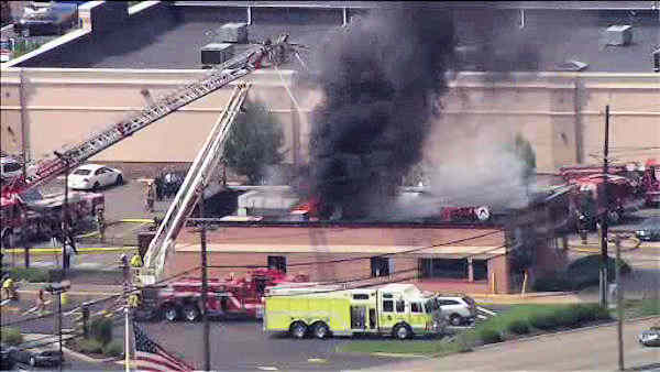 rutherford wendy's fire