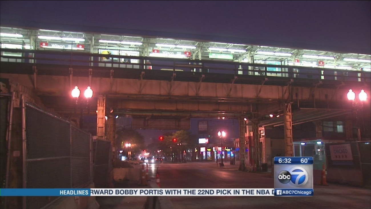 Police: Woman attacked on CTA Red Line train near Wilson