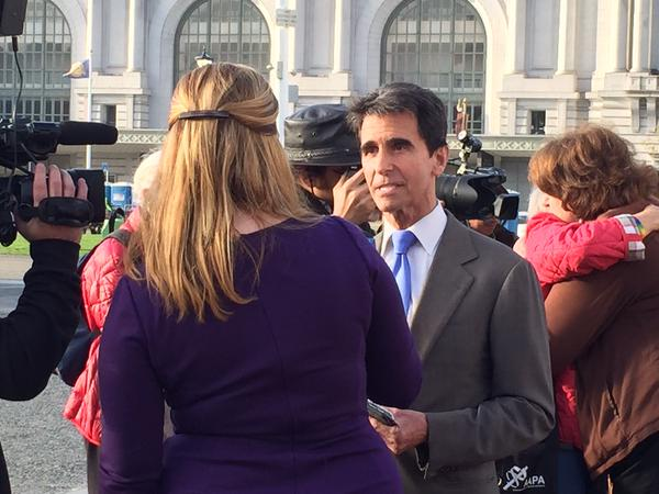 "<div class=""meta image-caption""><div class=""origin-logo origin-image none""><span>none</span></div><span class=""caption-text"">State Senator Mark Leno said, ""It's a great day for America,"" following the Supreme Court's same sex ruling on Friday, June 26, 2015 in San Francisco. (KGO-TV)</span></div>"