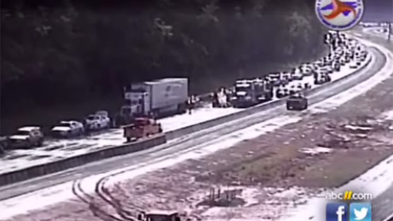 Raleigh crash on Interstate 40