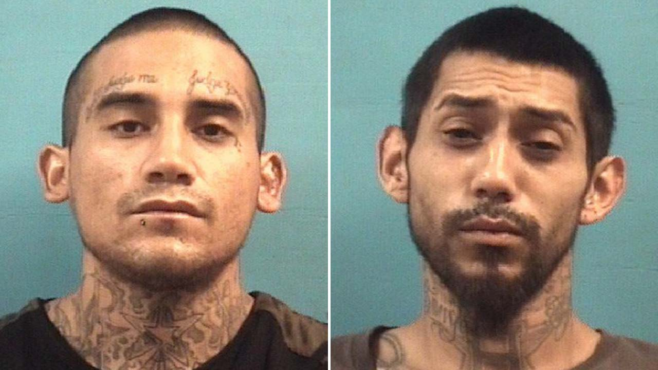 Justin Christopher Deleon, left, and Daryl Saavedra
