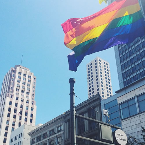 "<div class=""meta image-caption""><div class=""origin-logo origin-image none""><span>none</span></div><span class=""caption-text"">The Pride flag is flying high in San Francisco on Saturday, June 27, 2015. Tag your pride pics #abc7now. (Photo submitted to KGO-TV by cindychelsea/Instagram)</span></div>"