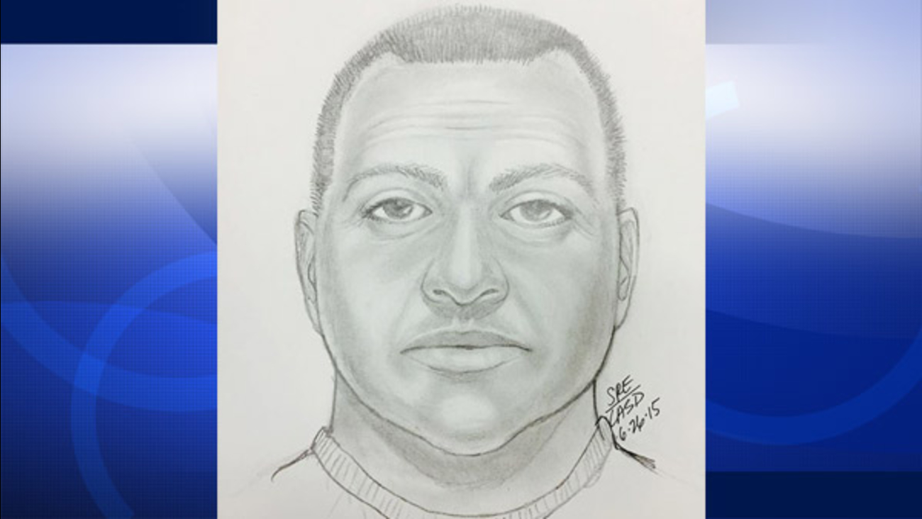 A sketch of a suspected hot prowler who was last seen fleeing from an Agoura woman's home is shown.