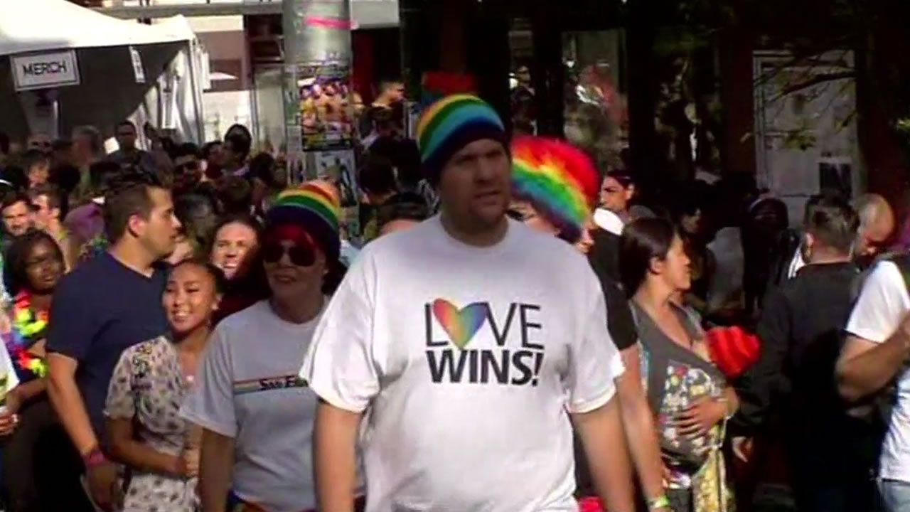 "<div class=""meta image-caption""><div class=""origin-logo origin-image none""><span>none</span></div><span class=""caption-text"">Thousands flock to San Francisco for the 45th annual Pride celebration on Saturday, June 27, 2015. (KGO-TV)</span></div>"