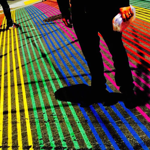 "<div class=""meta image-caption""><div class=""origin-logo origin-image none""><span>none</span></div><span class=""caption-text"">The rainbow street in San Francisco's Castro District during Pride celebrations on Saturday, June 28, 2015. (Photo submitted to KGO-TV by dee72/Instagram)</span></div>"