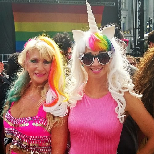 "<div class=""meta image-caption""><div class=""origin-logo origin-image none""><span>none</span></div><span class=""caption-text"">Thousands flock to San Francisco for the 45th annual Pride celebration on Saturday, June 27, 2015. Tag your pics on Twitter, Instagram, Facebook and Google Plus using #abc7now. (Photo submitted to KGO-TV by glitterywolfe/Instagram)</span></div>"