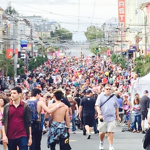 "<div class=""meta image-caption""><div class=""origin-logo origin-image none""><span>none</span></div><span class=""caption-text"">Thousands flock to San Francisco for the 45th annual Pride celebration on Saturday, June 27, 2015. Tag your pics on Twitter, Instagram, Facebook and Google Plus using #abc7now. (Photo submitted to KGO-TV by dee72/Instagram)</span></div>"