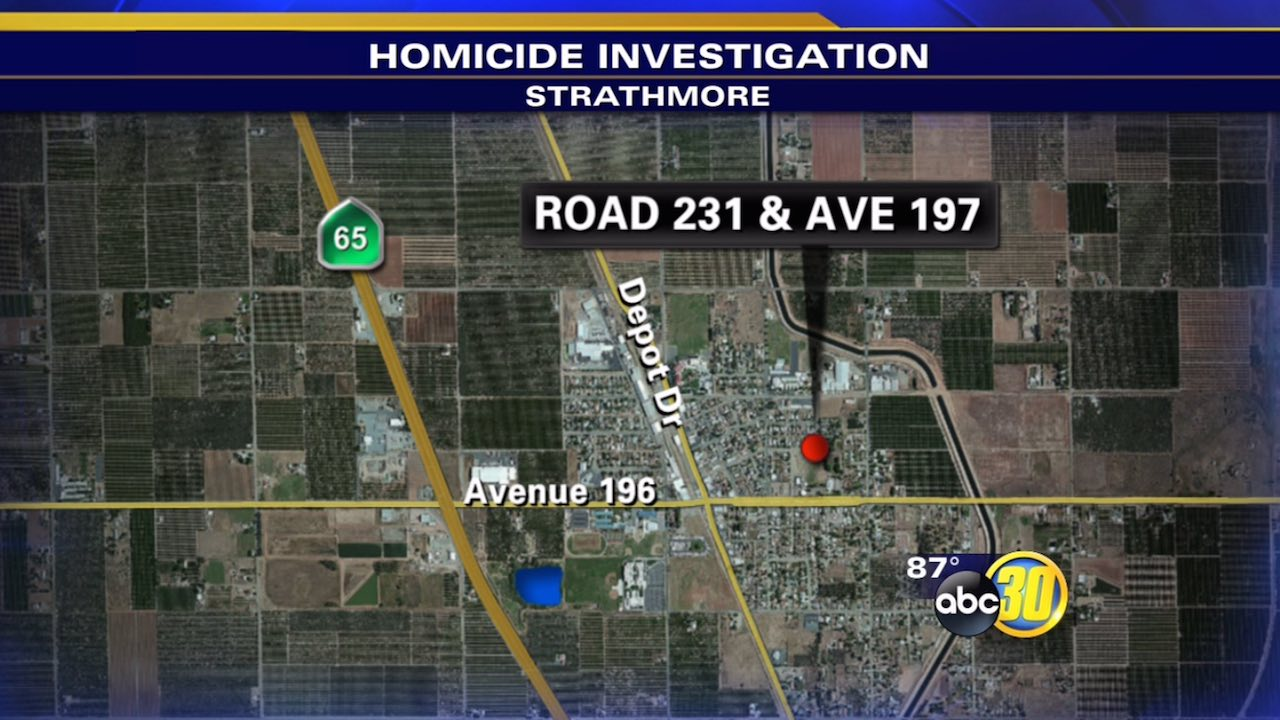 Tulare County Sheriff's Deputies were called to a home on Road 231 near Avenue 197 in Strathmore early Sunday morning.