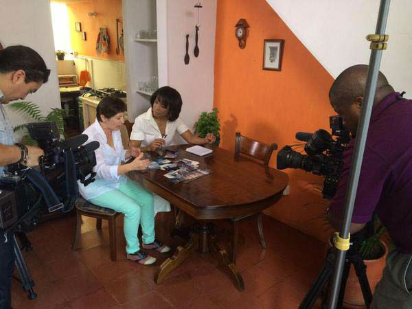 """<div class=""""meta image-caption""""><div class=""""origin-logo origin-image none""""><span>none</span></div><span class=""""caption-text"""">Gina Gaston is doing a story on the Houston Symphony in Colombia (KTRK Photo)</span></div>"""