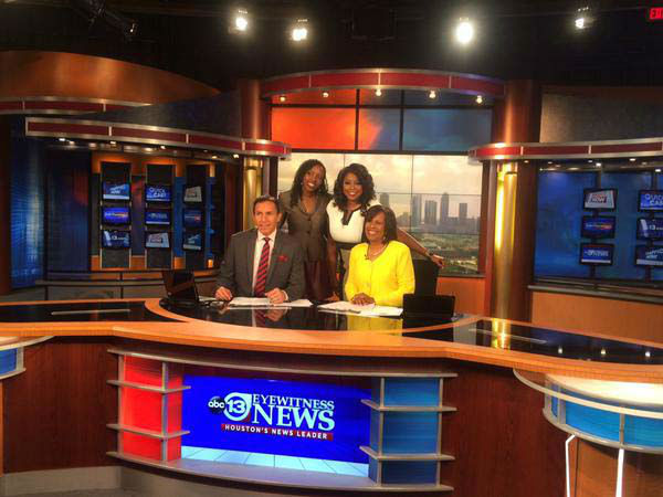 """<div class=""""meta image-caption""""><div class=""""origin-logo origin-image none""""><span>none</span></div><span class=""""caption-text"""">Comedian Crystal Powell stopped by the newsroom (KTRK Photo)</span></div>"""