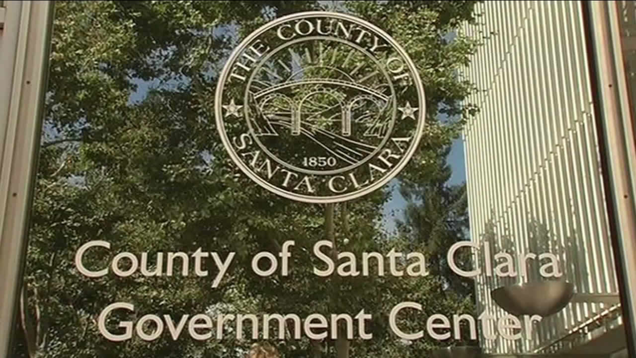 The County of Santa Clara Government Center in San Jose, Calif. is seen on Monday, June 29, 2015.