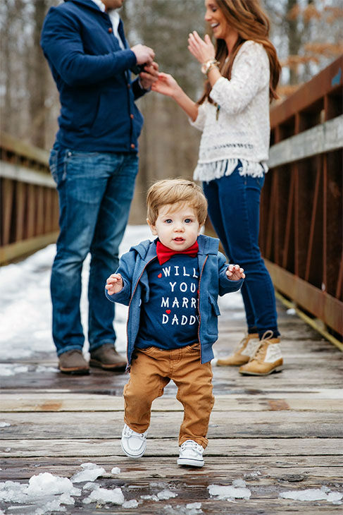 """<div class=""""meta image-caption""""><div class=""""origin-logo origin-image none""""><span>none</span></div><span class=""""caption-text"""">The wedding is planned for next May, and Hannah said Jace will """"definitely be in our wedding. Most likely our ring bearer, and stand with us during the ceremony."""" (Lindsay Blum, Gilded Light Photography)</span></div>"""